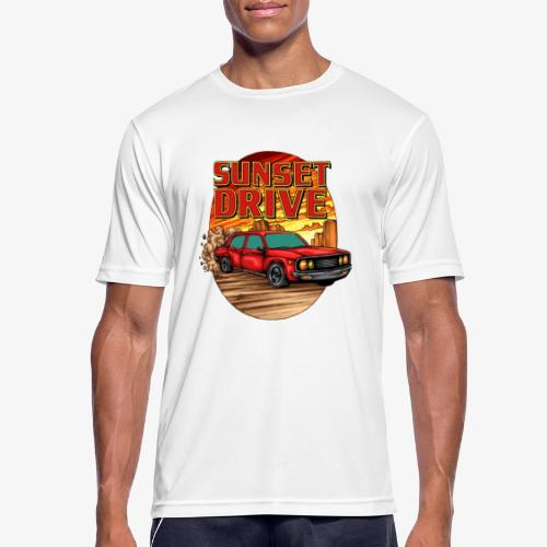 Sunset Drive - T-shirt respirant Homme