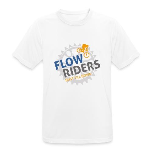 FLOWRIDERS - dust till down - Männer T-Shirt atmungsaktiv