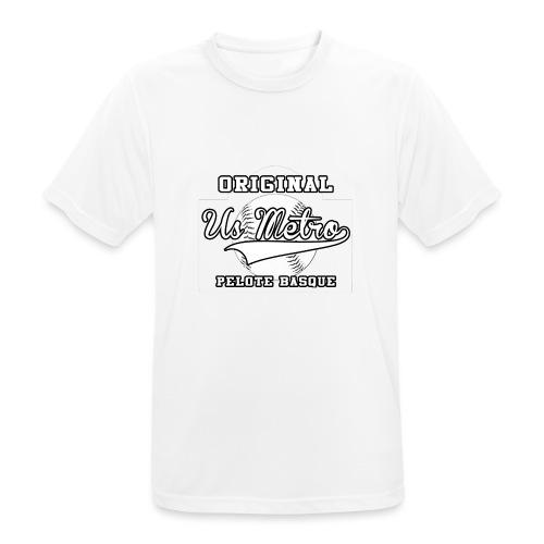 origiinalUSMETRO2 png - T-shirt respirant Homme