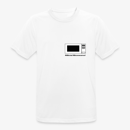 Official Microwaver! - Men's Breathable T-Shirt