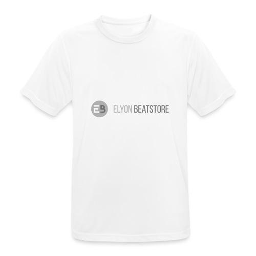 ElyonBeatstore Logo - Mannen T-shirt ademend actief