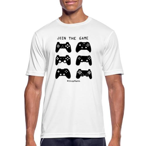 Join The Game - Men's Breathable T-Shirt