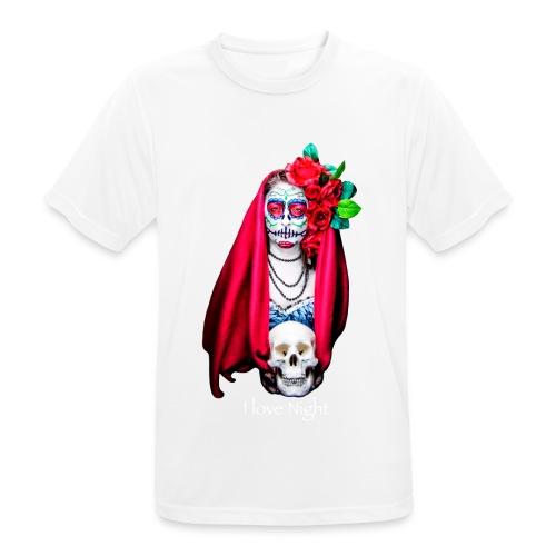 Catrina I love night - Camiseta hombre transpirable