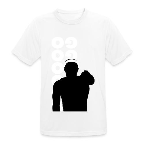 Go Go Go Go Go Go - Mannen T-shirt ademend actief