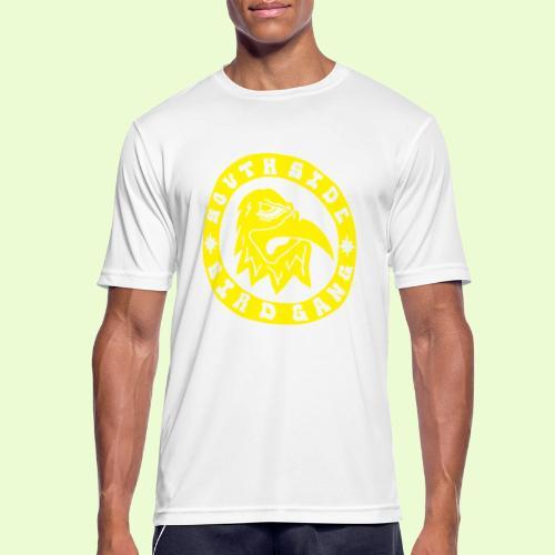 YELLOW EAGLE LOGO - miesten tekninen t-paita