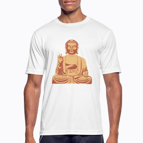 buddha om - Men's Breathable T-Shirt
