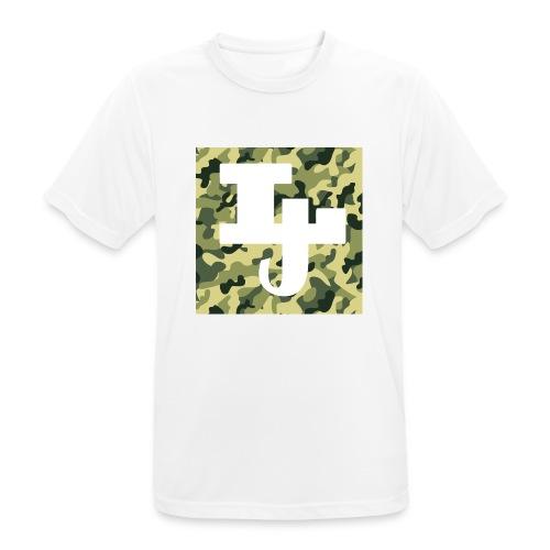 Lil jåkim Merke - Pustende T-skjorte for menn