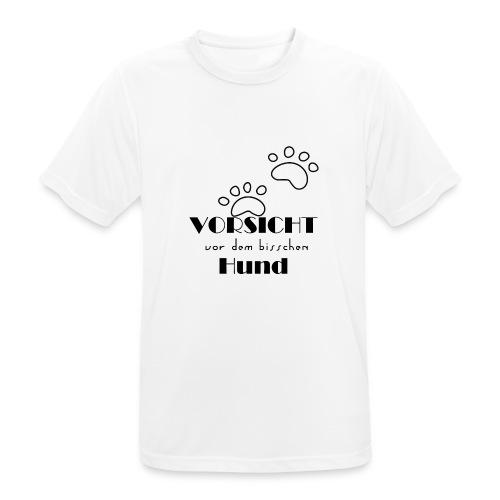 bisschen Hund - Männer T-Shirt atmungsaktiv