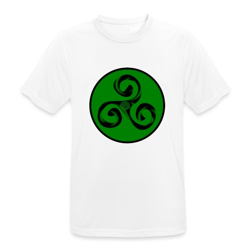 Triskel and Spiral - Camiseta hombre transpirable