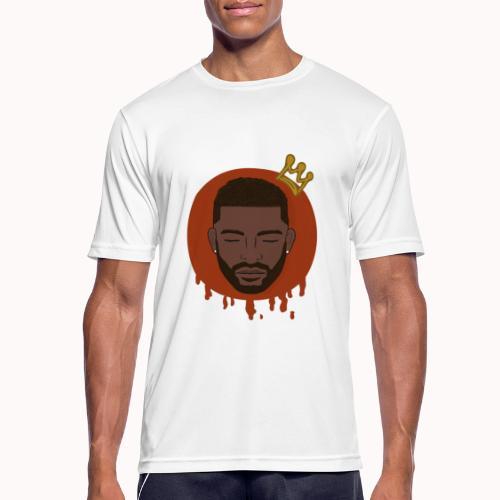 Black King - Mannen T-shirt ademend actief