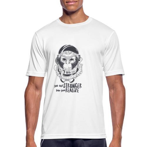 you are stronger - Männer T-Shirt atmungsaktiv