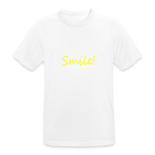 Smile for Sex - Männer T-Shirt atmungsaktiv
