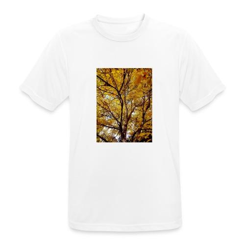 Deepleafs - Männer T-Shirt atmungsaktiv