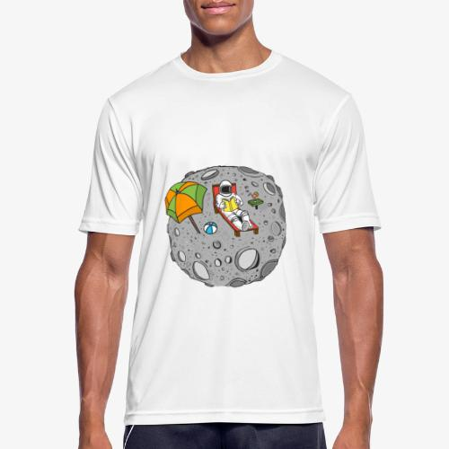 To the Moon - T-shirt respirant Homme