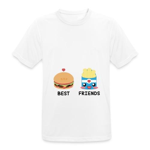 hamburger - Maglietta da uomo traspirante