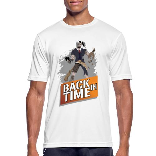 Back in Time - Männer T-Shirt atmungsaktiv