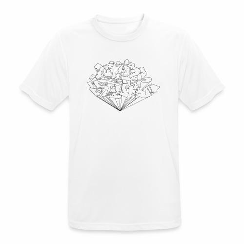 wild style ver01 Trick Aod - Herre T-shirt svedtransporterende