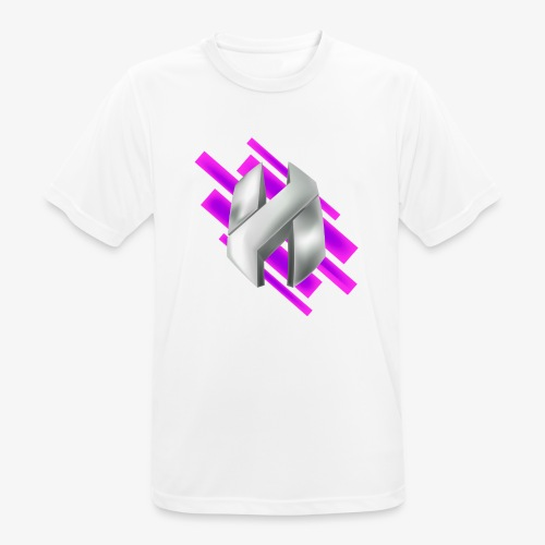 Abstract Purple - Men's Breathable T-Shirt