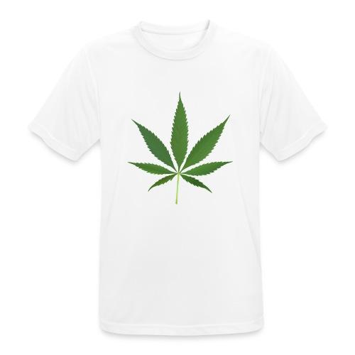 2000px-Cannabis_leaf_2 - Herre T-shirt svedtransporterende