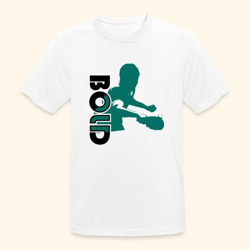 BOLD, table tennis championship ideal gift - Männer T-Shirt atmungsaktiv