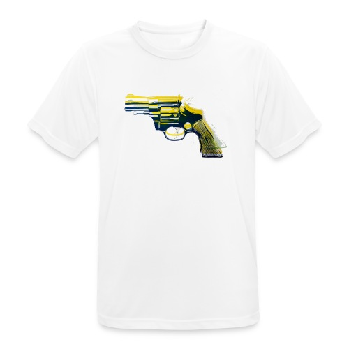 Revolver - Männer T-Shirt atmungsaktiv