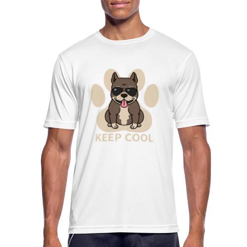 keep cool - Männer T-Shirt atmungsaktiv
