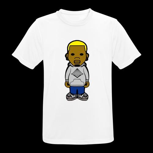 Chris Brown Breezy Tee - Männer T-Shirt atmungsaktiv
