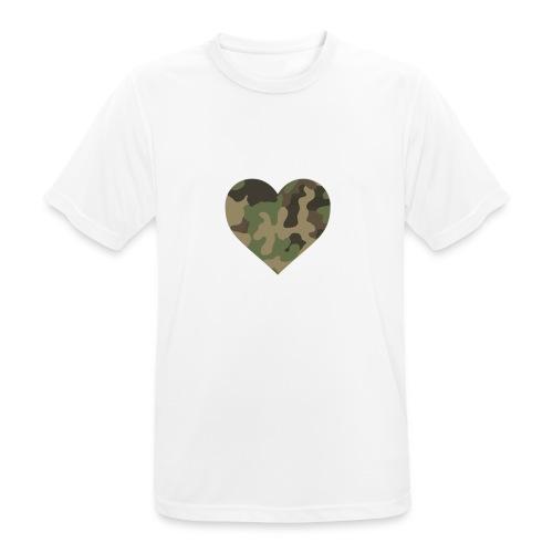 CamoHearth - Koszulka męska oddychająca