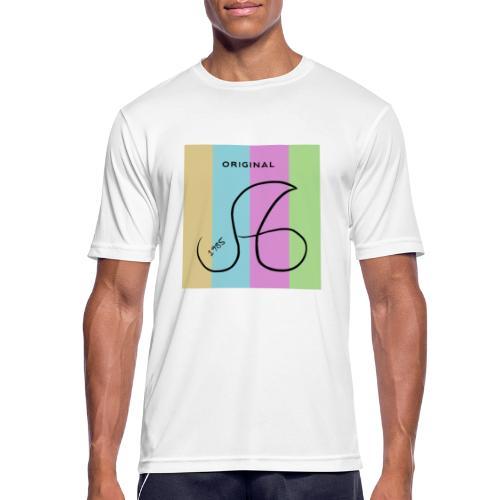 Marken Logo ag 1985 - Männer T-Shirt atmungsaktiv