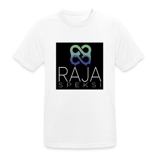 RajaSpeksin logo - miesten tekninen t-paita
