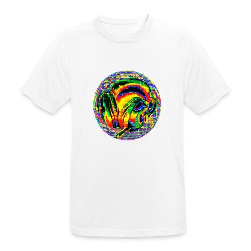 Casque à facettes - T-shirt respirant Homme