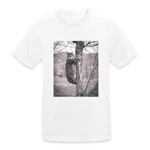 Grumpy Koala Katze im Baum - Männer T-Shirt atmungsaktiv