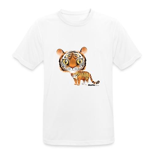 Tijger - Mannen T-shirt ademend actief