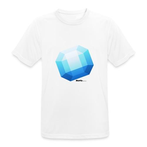 Saffier - Mannen T-shirt ademend actief