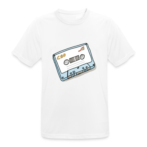 Cassette - Männer T-Shirt atmungsaktiv