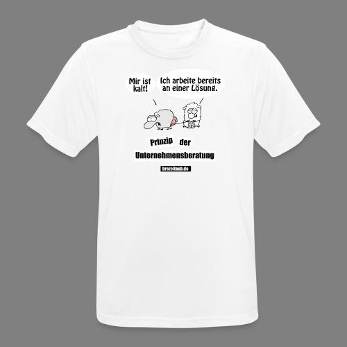 Unternehmensberatung - Männer T-Shirt atmungsaktiv