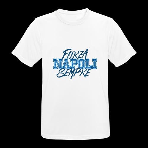 Forza Napoli Sempre - Maglietta da uomo traspirante