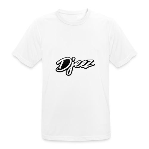 djeez_official_kleding - Mannen T-shirt ademend actief
