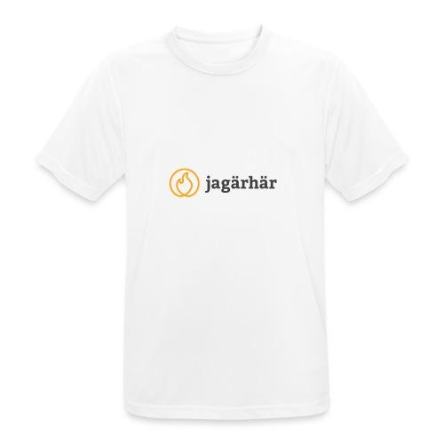 #jagärhär - Andningsaktiv T-shirt herr