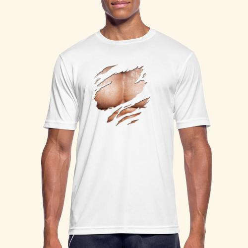 pectoraux - T-shirt respirant Homme