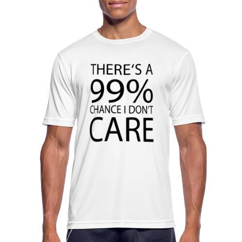 Ist mir egal lustiges Design Sarkasmus - Männer T-Shirt atmungsaktiv