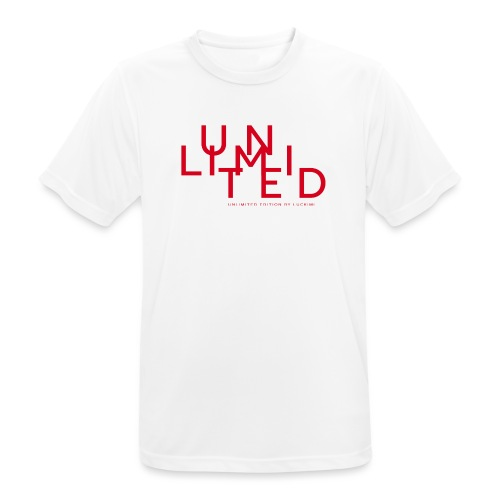 Unlimited red - Men's Breathable T-Shirt