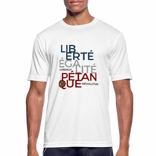 LIBERTE EGALITE PETANQUE - T-shirt respirant Homme