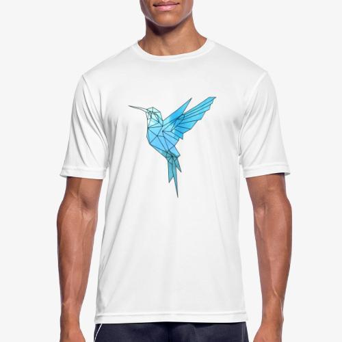Kolibri Geometrisch - Männer T-Shirt atmungsaktiv