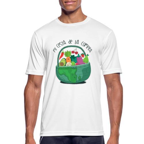 Mi cesta de compra - Camiseta hombre transpirable
