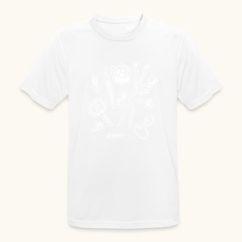 Handarbeiten lustiges Hobby Werkzeuge Geschenk - T-shirt respirant Homme