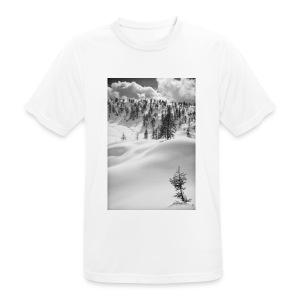 Winterlandschaft #1 - Männer T-Shirt atmungsaktiv