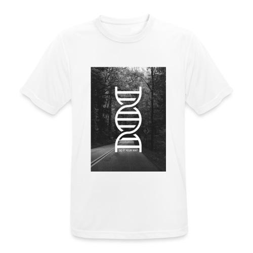 Fotoprint DNA Straße - Männer T-Shirt atmungsaktiv