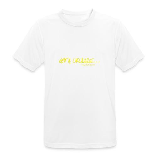 Official Got A Ukulele website t shirt design - Men's Breathable T-Shirt