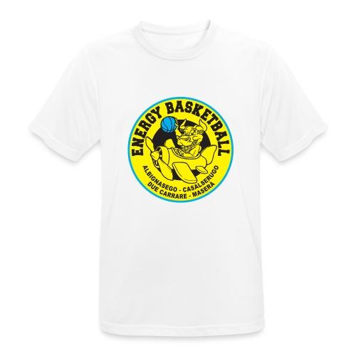 top energy - Maglietta da uomo traspirante